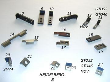 Heidelberg & Man Roland Offset Press Spare Parts-Heidelberg