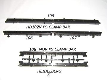 Heidelberg & Man Roland Offset Press Parts, Supplies and